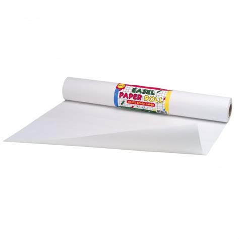 Roll Of White Craft Paper - easel white paper roll alex brands from craftyarts co uk uk