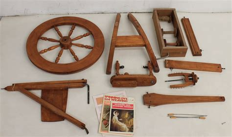 Handmade Spinning Wheel - vintage ashford traditional handmade wooden craft spinning
