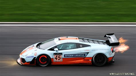 lamborghini race cars your ridiculously cool gulf oil lamborghini wallpaper is here