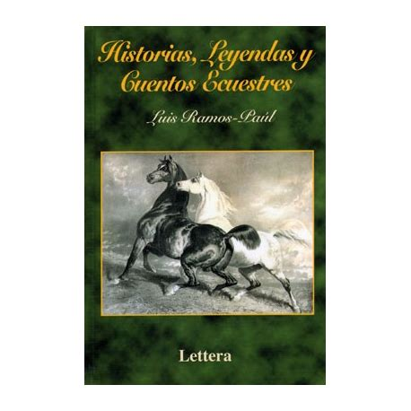 libro historias leyendas y cuentos ecuestres equivan tienda hipica