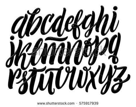 typography a z lettering stock images royalty free images vectors