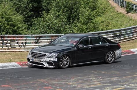 mercedes s 63 2018 mercedes amg s 63 prototype spied still testing on