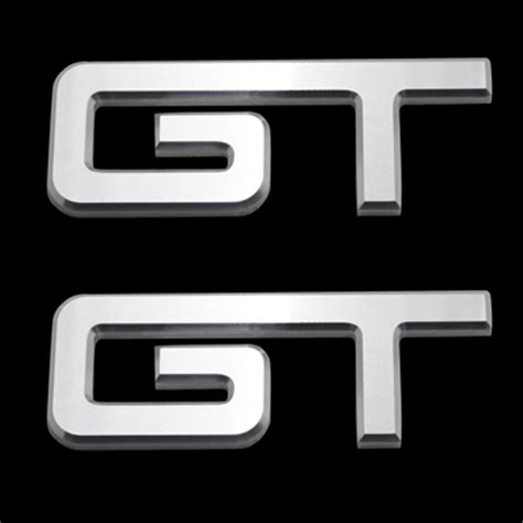 Emblem Gt Gt By Jasuki Shop ford mustang gt emblem set rpidesigns
