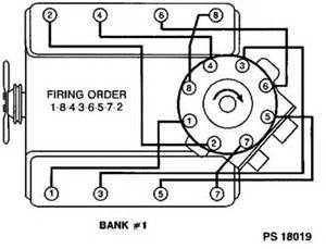chevy sbc spark wire order firing order