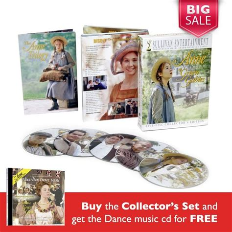 anne of green gables 20th anniversary collectors edition 456 best shop the shows images on pinterest green gables
