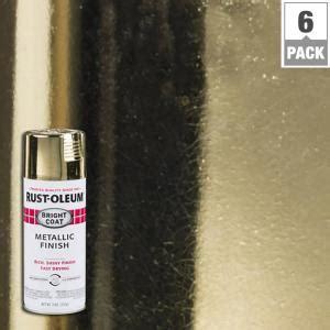 rust oleum stops rust  oz gold bright coat metallic