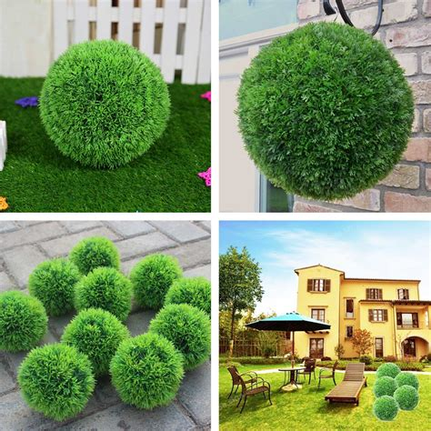boxwood topiary decor ball 6 inches 3302400 new raz home 28cm plastic conifer topiary ball grass hanging boxwood