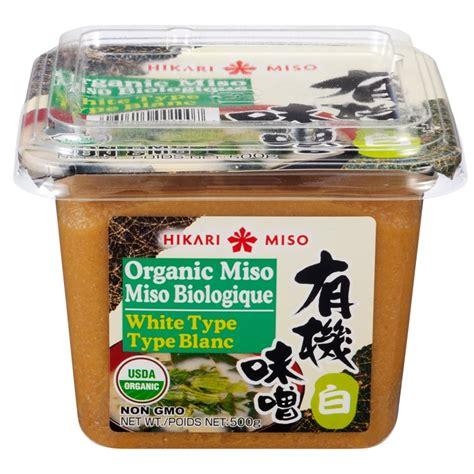 organic miso white english french label hikari miso