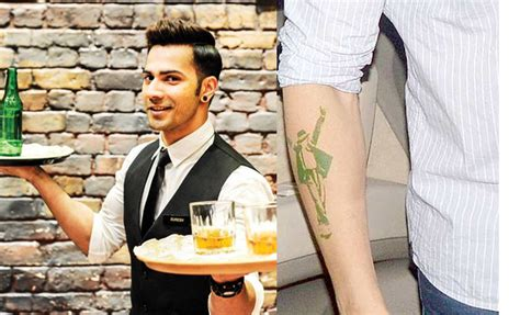 varun dhawan tattoo who got inked for their roles