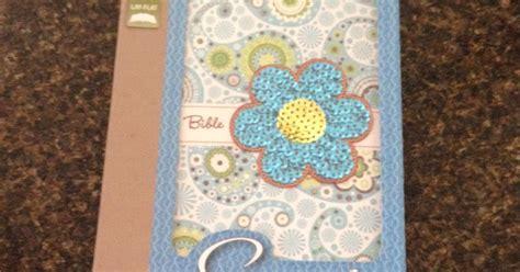 Sequin Bible Nirv Flower Zondervan redeemed review zondervan sequin bible