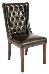 Leather Dining Chairs Uk Southwell Smart Leather Dining Chair Smart Leather Restaurant Chairs Direct From The Contract