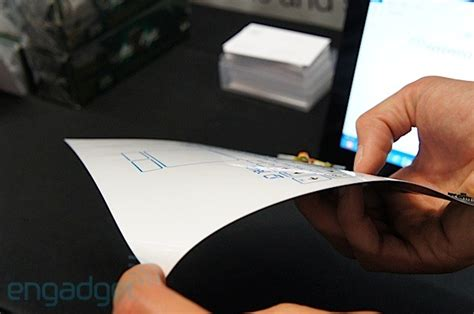 How To Make Thin Paper - on with csr s paper thin bluetooth keyboard