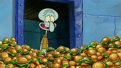 spongebob colored patties spongebob squarepants krabby patty moments