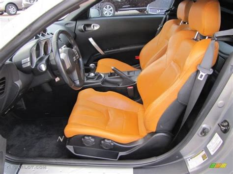 2005 nissan 350z seat covers burnt orange grey and black auto interior 2005 nissan 350z