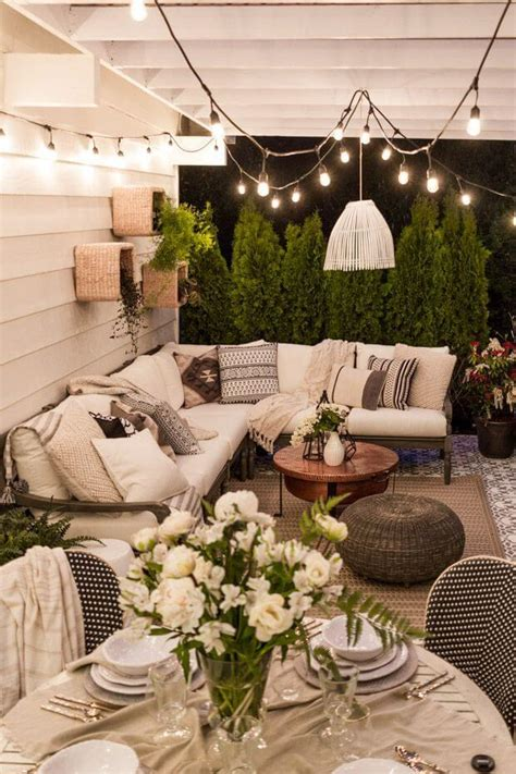 patio lighting ideas outdoor 33 best outdoor lighting ideas and designs for 2017
