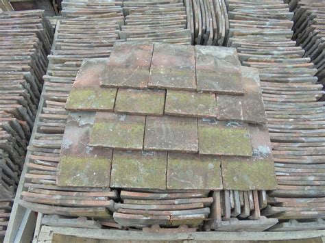 Handmade Roof Tiles - reclaimed weathered handmade roofing tiles authentic