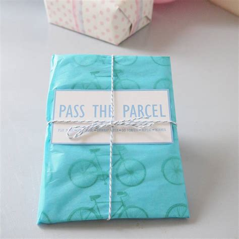 Baby Shower Pass The Parcel Story by Pass The Parcel By Daisyley Designs