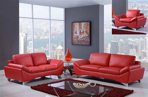 ashley red leather sectional red bonded leather sofa ashley alliston salsa bonded