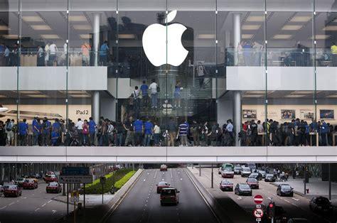 apple hongkong hong kong confermata frenata del retail affitti in