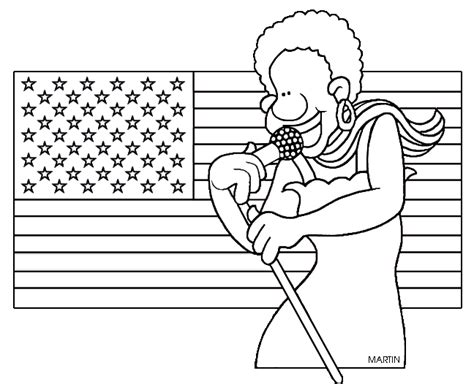coloring page of the star spangled banner star spangled banner clipart 26