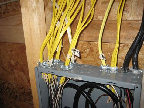 diy electrical installation electrical panel installation picture diy home
