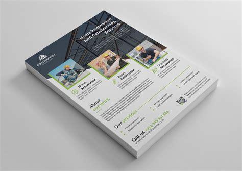 Best Flyer Design Templates best construction flyer design template 001492 template