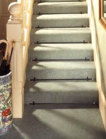 Stair Carpets With Rods how to fit stair rods