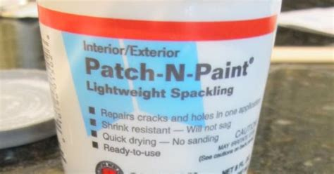 chalk paint joint compound mix 50 50 lightweight joint compound spackle with