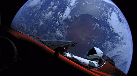 elon musk tesla let s see where elon musk s starman is in space shall we