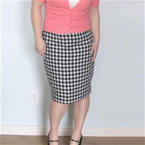 easy pencil skirt sewing pattern my sewing patterns