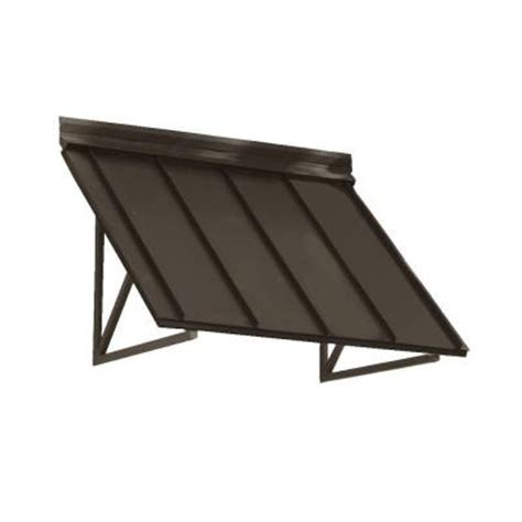 beauty mark awning beauty mark 5 6 ft houstonian metal standing seam awning