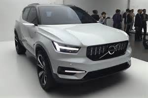 Volvo Upcoming Models Volvo Concepts Preview Upcoming 40 Series Entry Level Models