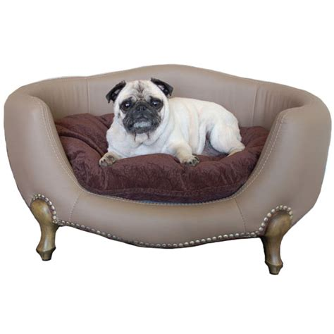 pet beds vivienne luxury dog bed small dog boutique at glamourmutt com
