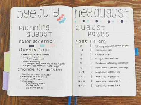 layout instagram buzzfeed 25 satisfying bullet journal layouts that ll soothe your soul