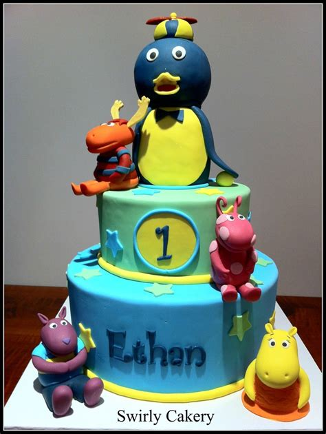 1000 images about backyardigans tutorial cake on