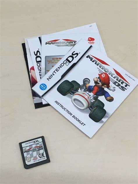 Cart Nintendo Ds Nds Lite Ndsl Ndsi Dsi Ds I Original mario kart nintendo ds nds lite dsi car driving racing