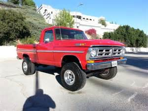 buy used 1972 ford f100 4x4 box 460 v8 4 speed 4