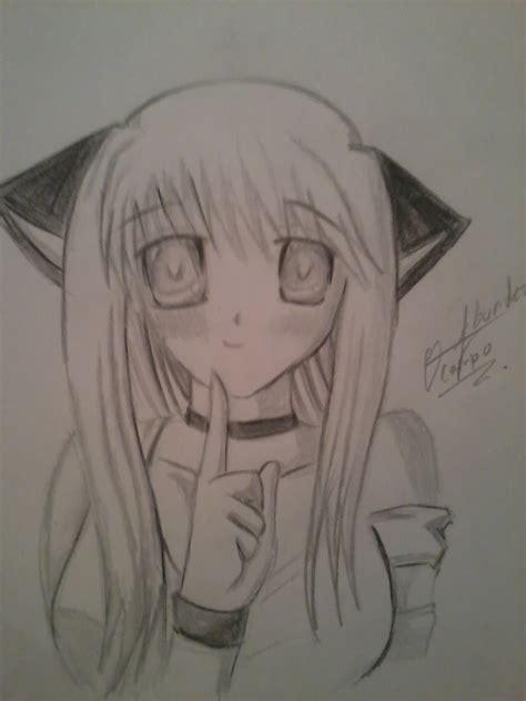 imagenes lindas para dibujar de anime dibujando una chica anime como dibujar un anime youtube