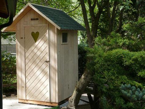 garten toilette garten wc selber bauen hausidee