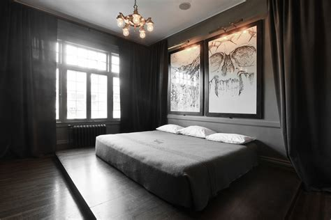 drapes on ceiling bedroom floor to ceiling drapes living room contemporary with art