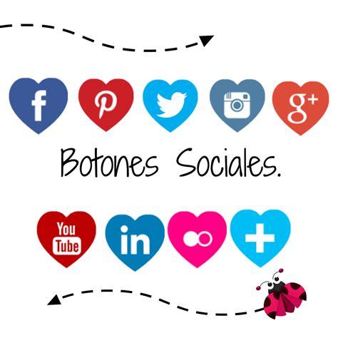 imagenes redes sociales iconos imagina y crea tu mismo como colocar iconos sociales en
