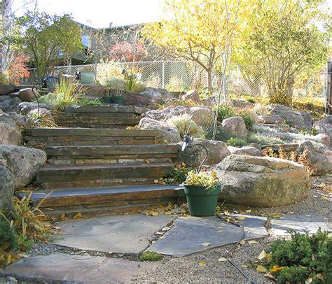 rock garden steps steps with rock garden flickr photo