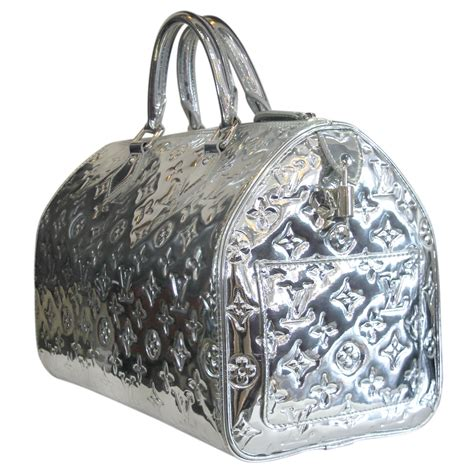 Be Honest Do You Or The Lv Miroir by Louis Vuitton Speedy 30 Silver Monogram Miroir Handbag