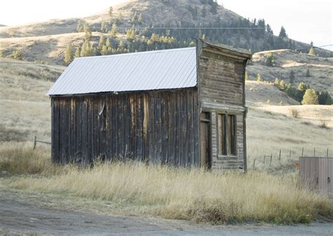 Washington Shed by File Side Of A False Front Building In Chesaw Wa Jpg