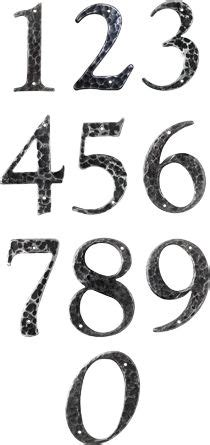 tattoo fonts plain numbers font forum gt house number font floral