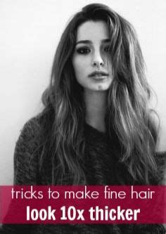 pictures ofhaircuts that make your hair look thicker 10 tricks to make fine hair look thicker wedding