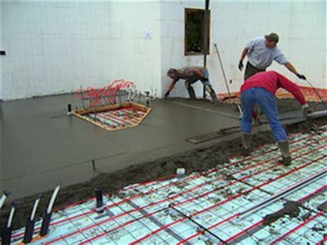 pex hydro radiant flooring depth on existing slab award winning green building company u s homebuilders
