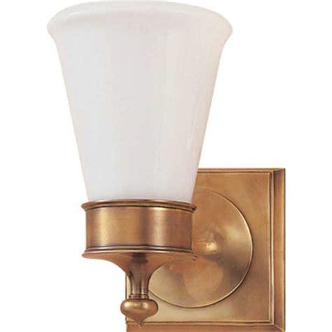 comfort lighting inc visual comfort glass sconce bellacor