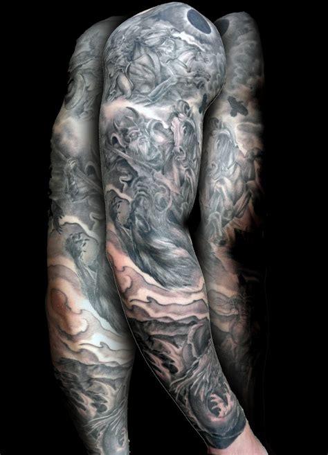 viking sleeve tattoos viking images designs
