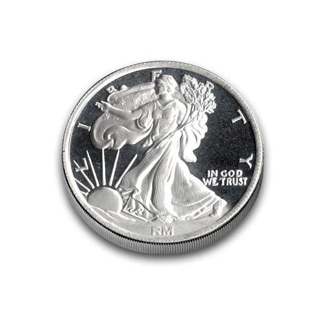 Silver Rounds - 1 4 oz silver rounds qtr walking liberty 999 silver bullion
